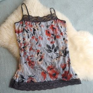Maurices Floral Lace Cami